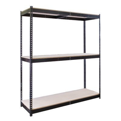 Rivetwell, 3 Shelf Rivet Boltless Knock-Down Shelving Size: 96