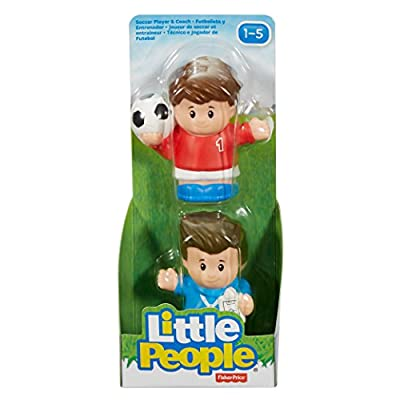 Fisher-Price Little People Soccer Player & Coach: Toys & Games