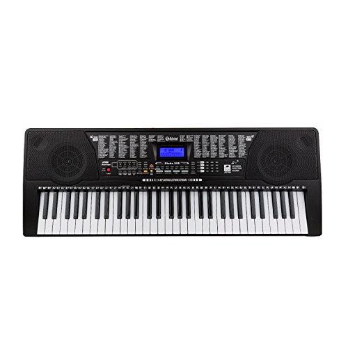 Schubert Etude 225 USB • teclado • teclado de aprendizaje • 61 teclas • teclas de luz • sensibilidad a la rapidez • función de grabación y reproducción • 3 ...