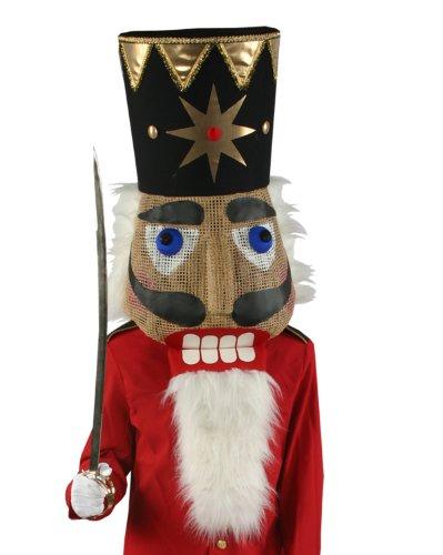 Nutcracker Head Men's Costume ()