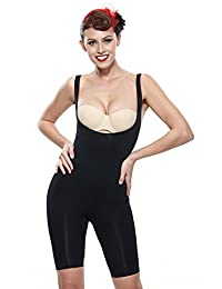 Franato Women's Shapewear Wear Your Own Bra Firm Tummy Control Body Shapers