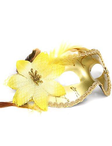 JeVenis Party Masks Masquerade Mask Costume Mask Carnival Mask Masquerade Mardi Gras Halloween Mask 3 ()
