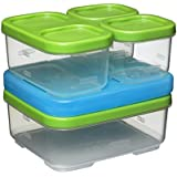 Rubbermaid Lunch Blox Container Sandwich Kit