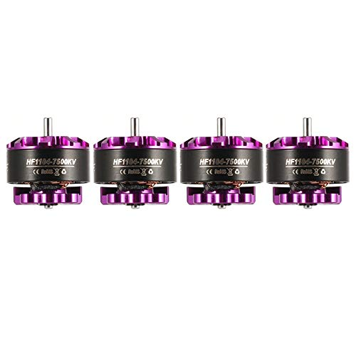 Wikiwand 4pcs HGLRC Flame 1104 7500KV 2S Brushless Motor for RC Mini FPV Racing Drone by Wikiwand (Image #3)