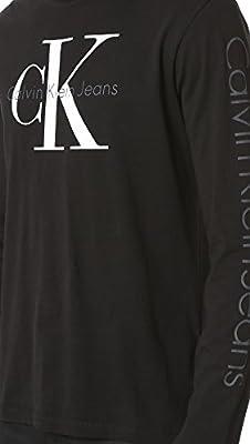 Calvin Klein Jeans Men's Reissue Logo Long Sleeve Tee