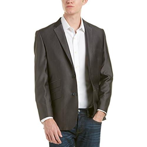 Top English Laundry Slim Fit Gray Diamond Suit Separates Jacket