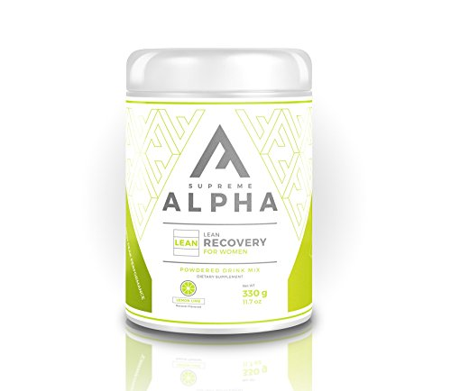 Supreme Alpha Lean Post Workout Recovery Supplement for Women - Lose Weight and Recover Faster After Exercise | BCAA's | Increases Metabolism to Lose Fat | Boost Immune System