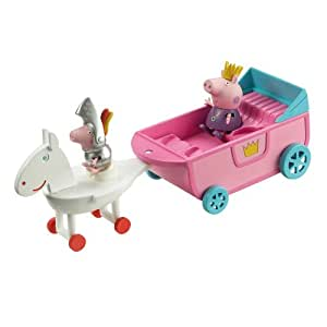 Peppa Pig - Carroza real de princesa (Bandai 84331)