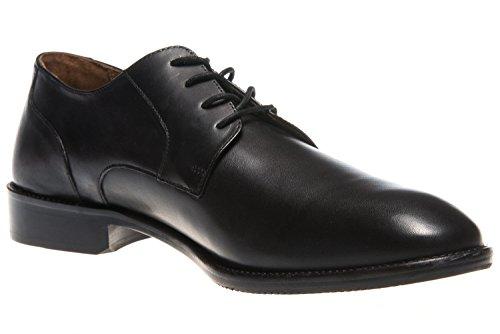 pour Noir ville Terni homme lacets Manz à de Chaussures v8Ywqvf1
