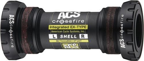 ACS Tretlager Crossfire BSA 73 x 68 mm schwarz