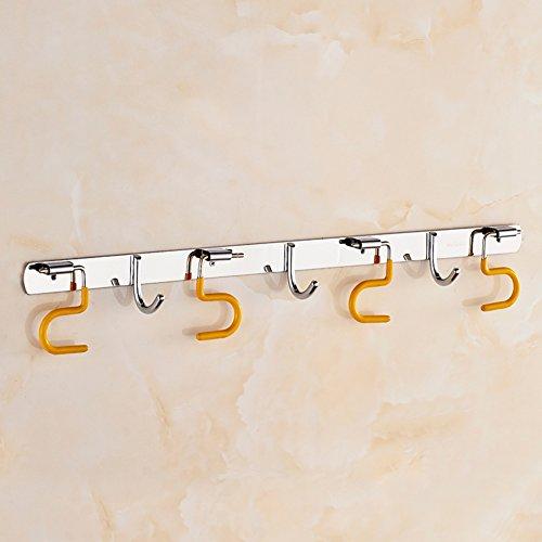 durable modeling bathroom MOP hook/clothes Hook/ bathroom MOP hook/Stainless steel glove broom-A