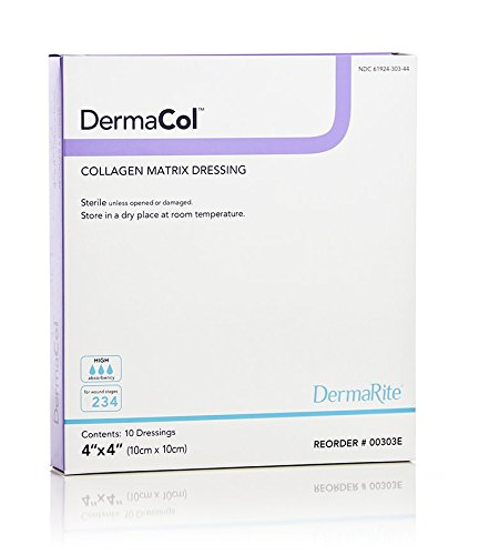 DermaRite 00303E Dermacol Collagen Matrix Dressing