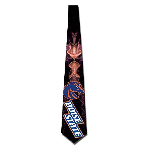 State University Necktie - ONESEDA Men`s Boise State University Tie Necktie Ties