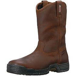 Rocky Men's RKK0215 Construction Boot, Brown, 11 W US