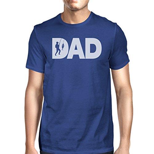 Dad 365 Blue Fish Camiseta Royal Printing Hombre de SR1c8rS