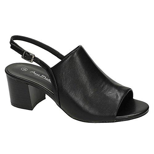 Michelle Noir Femme Chaussures talons Anne à UpqwHPP