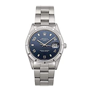 Best Epic Trends 41Yk6VLqq5L._SS300_ Rolex Datejust Mechanical (Automatic) Blue Dial Mens Watch 15210 (Pre-Owned)