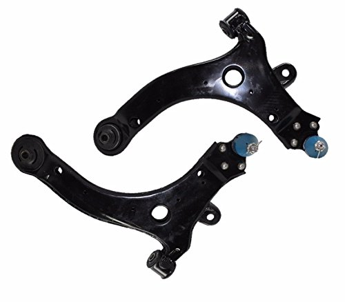 PartsW 2 Piece Kit Left and Right Control Arm and Ball Joint Assemblies Driver and Passenger Side