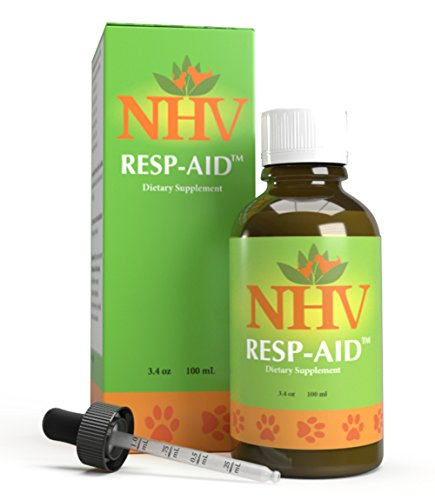 Resp-aid - Natural Support for Respiratory Disorders, Kennel Cough and Bronchial Infections in dogs, cats and small pets