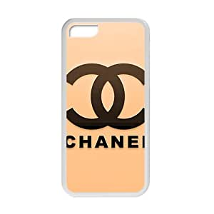 LINGH Famous brand logo Chanel design fashion cell phone case for iPhone 5C