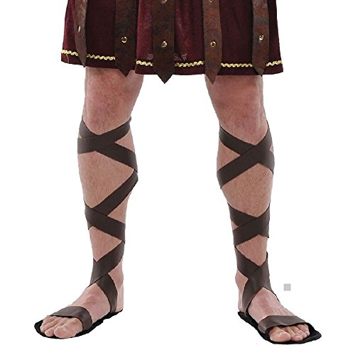 Roman Sandals Halloween - Roman Sandals Costume Adult Halloween
