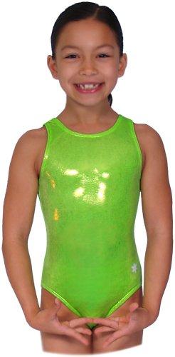 (Snowflake Designs Neon Green Mystique Leotard (Child Extra Small) )