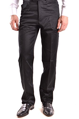 Clothing Ferre Gianfranco Mens (GIANFRANCO FERRÉ Men's Mcbi136016o Black Cotton Pants)
