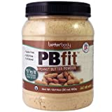 BetterBody Foods PB Fit Powder, Peanut Butter, 30 Ounce (Pack of 2)