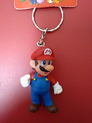 [super mario keychain keyring figure collectable] (Mr Gum Costume)