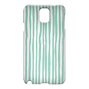Loud Universe Samsung Galaxy Note 3 3D Wrap Around Confetti Pattern Cover - Green/White