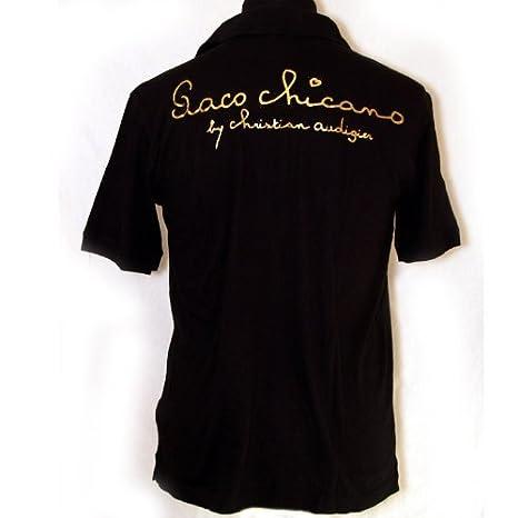 Paco Chicano - Polo - para hombre negro Medium: Amazon.es: Ropa y ...