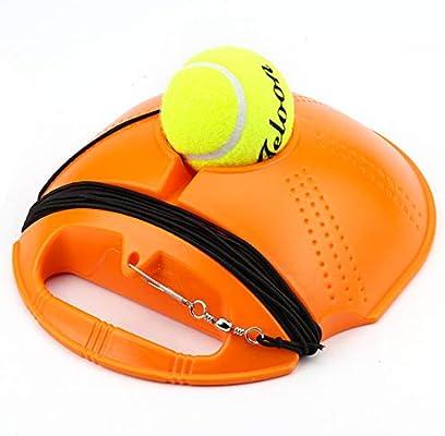 AGKupel Zócalo de Tenis Individual Juego de Pelota de Goma con ...