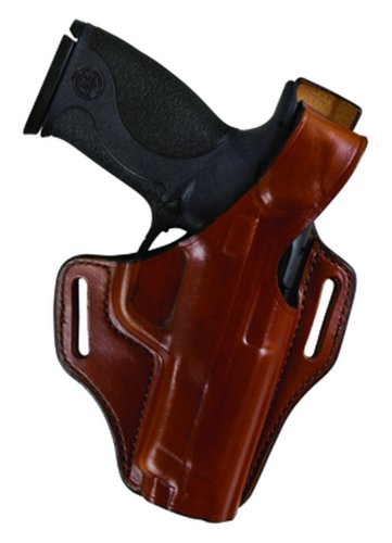 Bianchi 56 Serpent Holster Fits Government 1911 (Right Hand, Tan) (56 Holster Serpent)