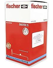 fischer - Taco Duotec 10 Con Tornillo / (Caja de 25+25 Uds), 537259