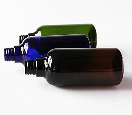 Amazon.com: 2 botellas de plástico vacías de 250 ml de color ...