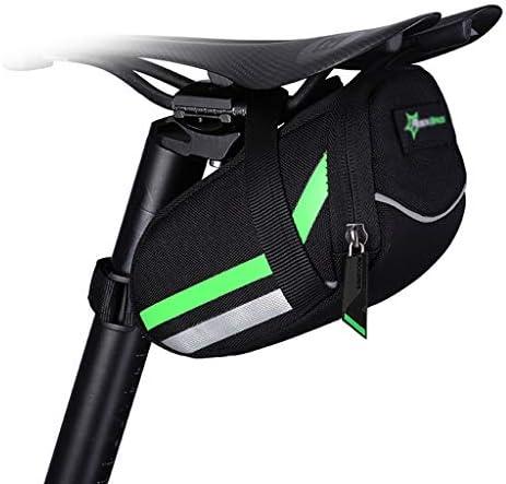 自転車テールバッグ、900Dナイロン素材、良い耐スクラッチ性、引き裂き抵抗、表面に対する保護小雨、マウンテンロードバイクサドルバッグ、リアシートバッグ、折りたたみ自転車乗馬アクセサリー