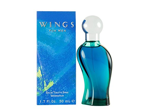Wings by Giorgio Beverly Hills for Men, Eau De Toilette Spray, 1.7-Ounce