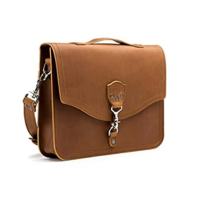 9a90437a40 Saddleback Leather Laptop Bag - 100% Full Grain Leather Messenger with 100  Year Warranty high