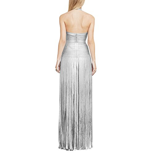 Damen Kleid Silber Gold gold HLBCBG XS RwdqvAC