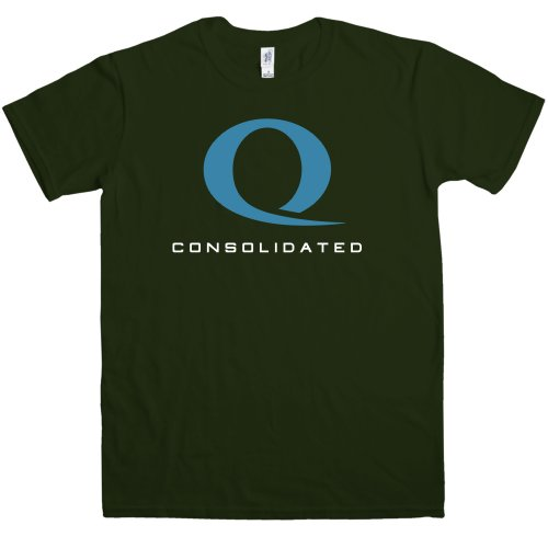 Refugeek Tees - Mens T Shirt - Queen Consolidated - Forest Green - Large