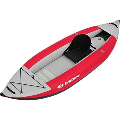 29615 Solstice Flare 1 Person Kayak, Red by Solstice (Sports)