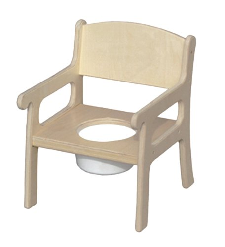 Little Potty Chair (Little Colorado Unfinished Potty Chair)