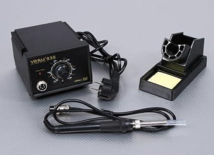 YIHUA 936 Estación de soldadura 220 V con regulador de temperatura Plug EU + masa