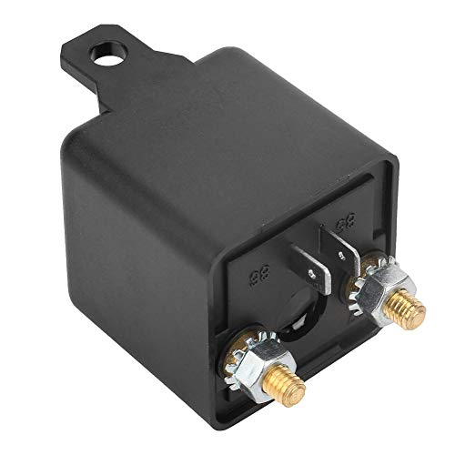 motoscafi Rel/è interruttore on//off per carica separata per auto camion furgoni Rel/è per auto DC 12V 100A Rel/è per avviamento per auto per impieghi gravosi per autoveicoli 4 pin WM686 RL//180