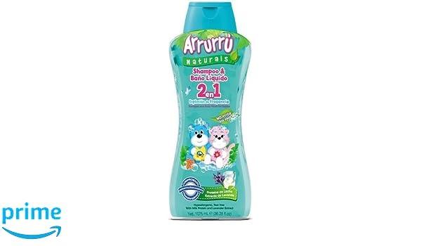 Amazon.com: Arrurru Baby Shampoo & Baño Liquido 2 en 1 Explosion de Fragancia. 35.8 Fl oz.: Beauty