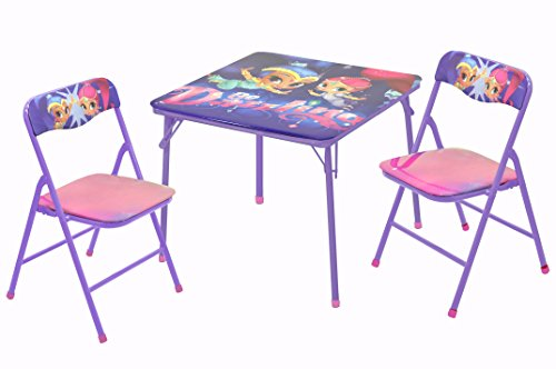 Princess 3 Piece Table - Nickelodeon Shimmer and Shine 3 Piece Table and Chair Set