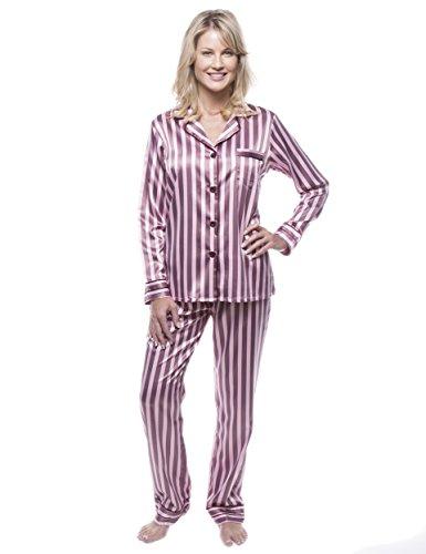noble-mount-womens-classic-satin-pajama-set-stripes-pink-x-large