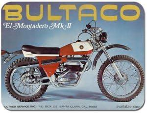 Alfombrilla para ratón Bultaco para moto alfombrilla para ...