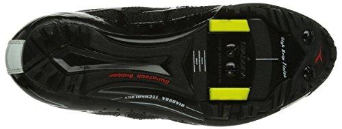 Diadora X- Vortex - Calzado de ciclismo Unisex adulto Schwarz (schwarz/weiß 6410)