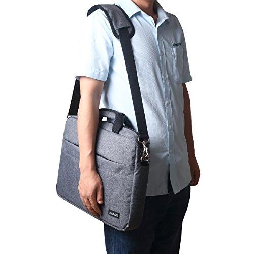 JAKAGO 150cm Universal Replacement Shoulder Straps Adjustable Bag Straps with Metal Swivel Hooks and Non-Slip Pad for Duffel Bag Laptop Briefcase Violin Bag Camera Travel Bag (Grey) by JAKAGO (Image #5)